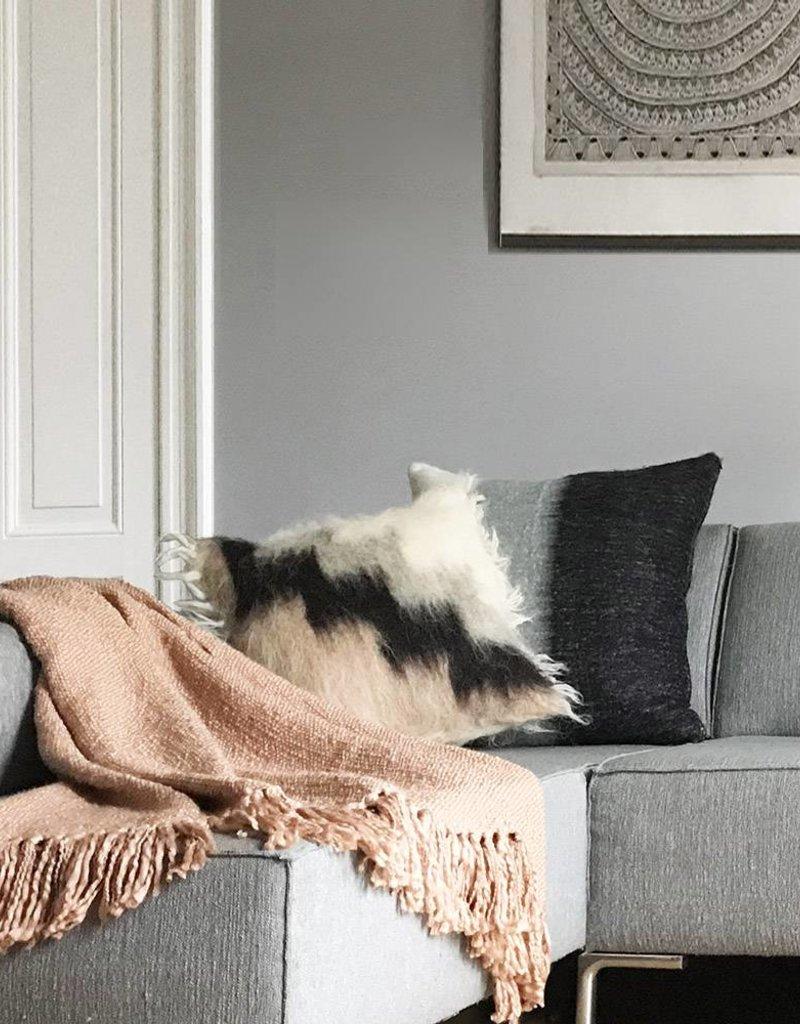 Cushion 100% wool stairway brush 50x50
