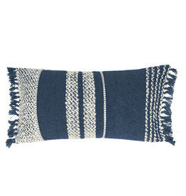 Berber dark blue cushion