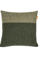 Easy nature wool cushion green square (NEW)