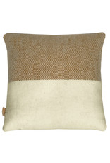 Easy nature wool cushion mustard square (NEW)