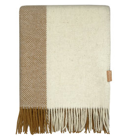 Easy nature wool throw mustard (NEW)