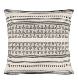 Native stripe cotton offwhite cushion 60x60cm (NEW)