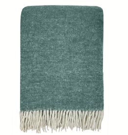 Easy green double face recycled wool throw (NEW) (15 Dec)