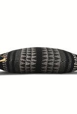Native stripe cotton black cushion 60x60cm (NEW) (15 Dec)