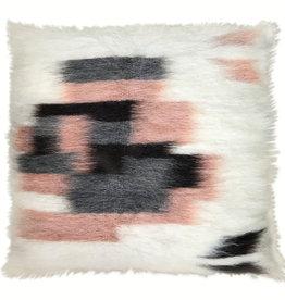 Floor cushion 100% wool rose 90x90 (NEW)
