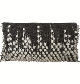 Drops rectangle cushion black 40x70 (NEW)