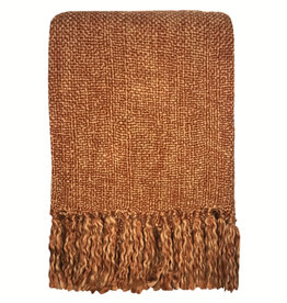 Marble terracotta red throw (NEW) (31 Dec)