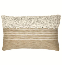 Tribal off white cushion (NEW) (15 Dec)