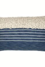 Tribal indigo blue cushion (NEW) (15 Dec)