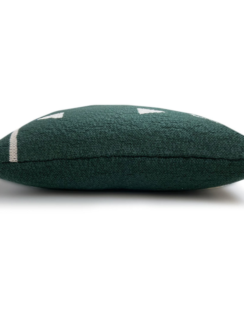 Fantasy line knittedcushion green (NEW)
