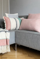 Multicolor pastel boucle throw (NEW)