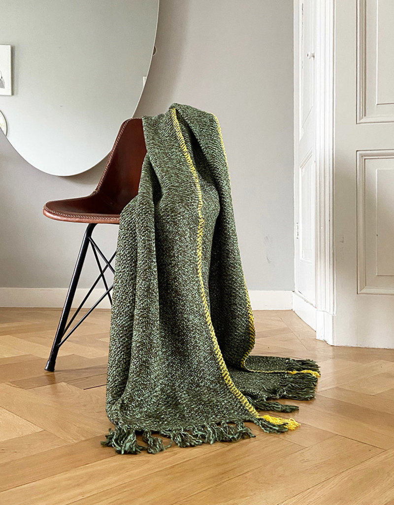Olive green melee throw
