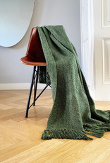 Marble jungle green throw (Oct 10)