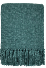 Lake green solid throw (NEW) (Oct 10)
