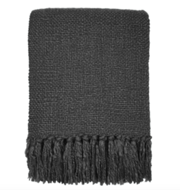 Anthracite grey solid throw (NEW) (Oct 10)