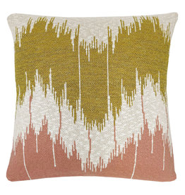 Wave knitted cushion pink (NEW)