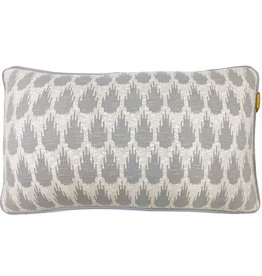 Botanic mini knitted cushion light grey (NEW) (Oct 10)