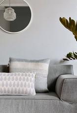 Botanic mini knitted cushion light grey (NEW) (Oct 10)