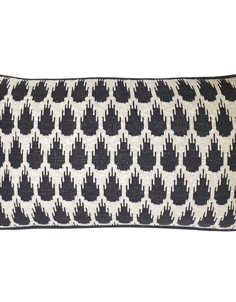 Botanic mini knitted cushion anthracite (NEW)