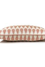 Botanic mini knitted cushion pink (NEW)