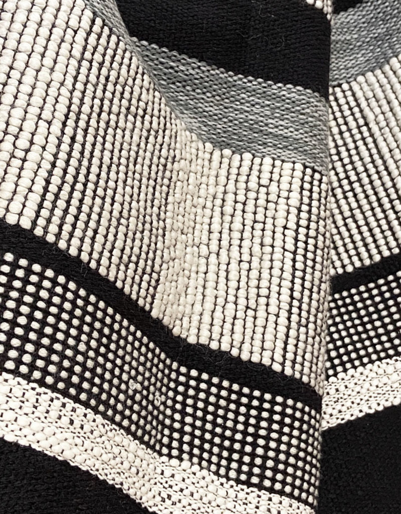 Black texture throw (NEW) (Oct 10)