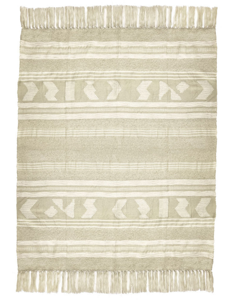 Craft offwhite throw (NEW)