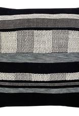Black texture cushion square (NEW)