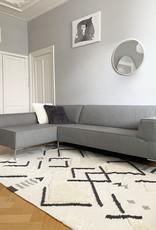 Wonder carpet ivory white