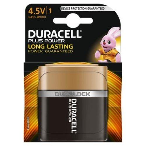 Duracell Plus Power Alkaline Batterij MN1203 3LR12 4,5V BL1