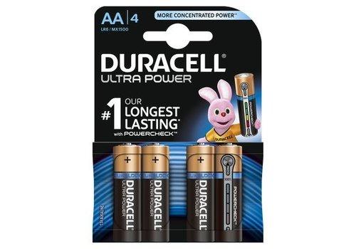 Duracell Ultra Power MX1500 AA BL4