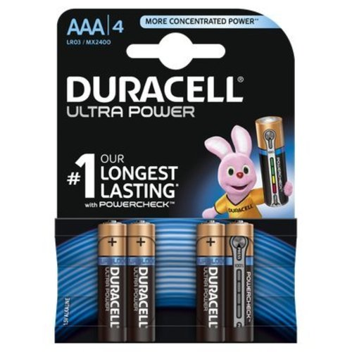 Duracell Ultra Power MX2400 AAA BL4