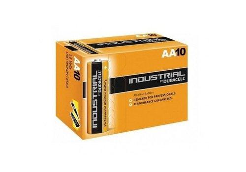 Duracell Industrial ID1500 - AA Alkaline Batterijen 10-Pack