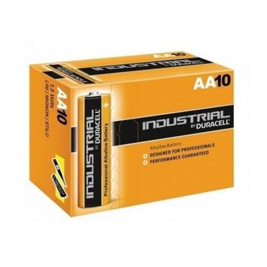 Industrial AA Alkaline Batterijen ID1500 10-Pack