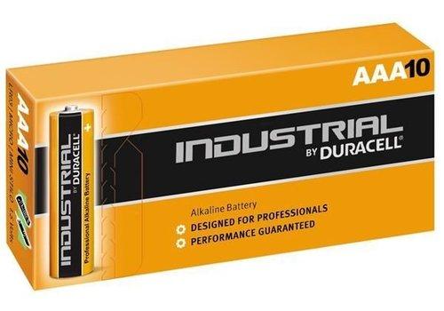 Duracell Industrial ID2400 - AAA Alkaline Batterijen 10-Pack