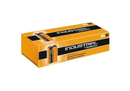 Duracell Industrial ID1604 9V Alkaline Batterijen 10-Pack
