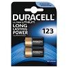 Duracell Ultra Lithium CR123A - DL123A - CR17345 3V Batterij BL2