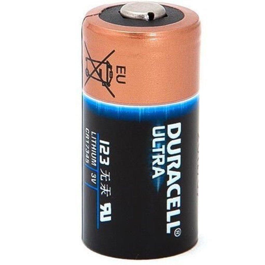 Lithium CR123A - DL123A - CR17345 Batterij - Bulk 10 batterijen