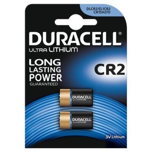 Duracell Ultra Lithium CR2 3V Batterij BL2