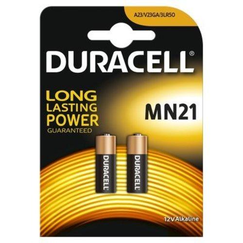 Duracell Alkaline MN21 A23 12V BL2