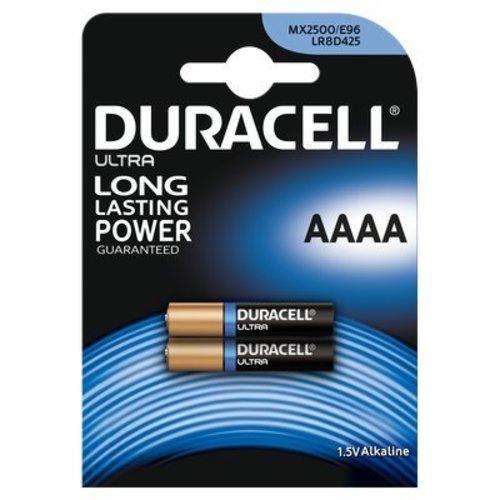 Duracell Ultra MN2500 AAAA Alkaline Batterijen BL2