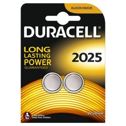 Duracell Lithium DL2025 Knoopcel BL2