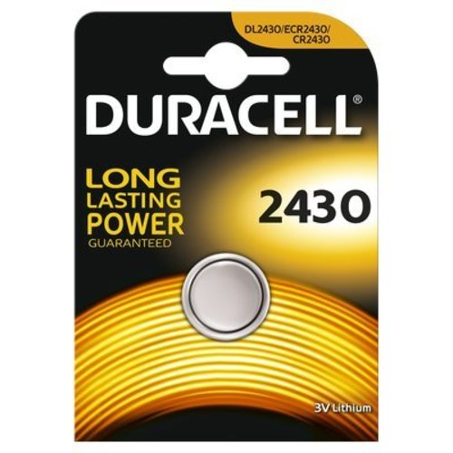 Duracell Lithium DL2430 Knoopcel BL1