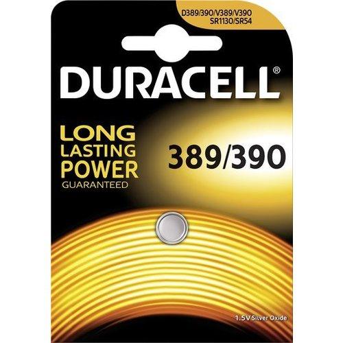 Duracell D 389/390 SR1130 SR54 Zilveroxide Knoopcel BL1