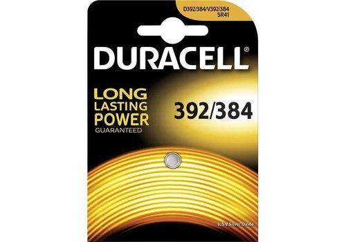 Duracell D 392/384 SR41 Zilveroxide Knoopcel BL1