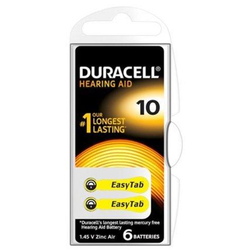 Duracell Activair DA 10 PR70 Gehoorbaterijen BL6