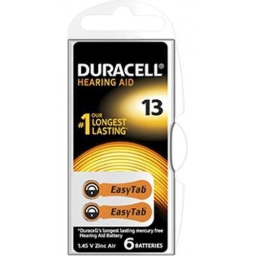 Duracell Activair DA 13 PR48 Gehoorbatterijen BL6