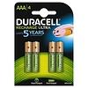 Duracell Recharge Ultra HR03 AAA 850mAh Oplaadbare Batterijen BL4