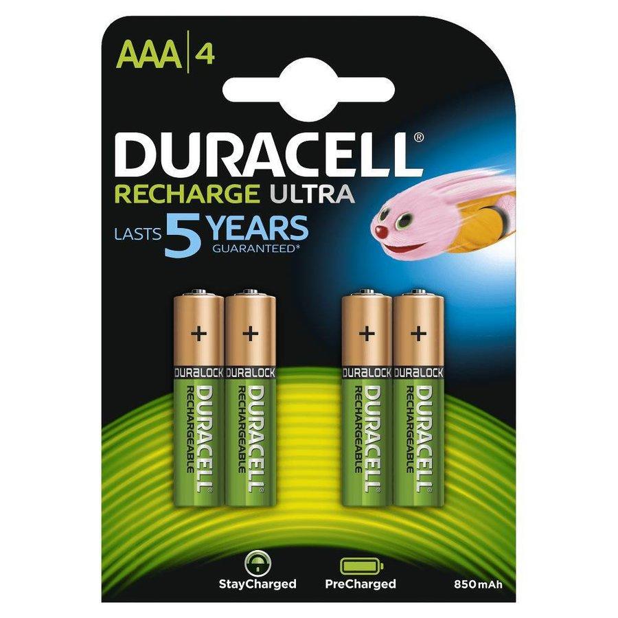 Recharge Ultra HR03 AAA 850mAh Oplaadbare Batterijen BL4