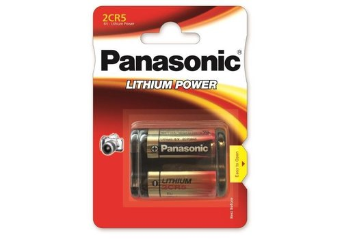 Panasonic Lithium Power 2CR5 BL1