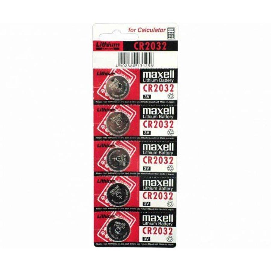 CR2032 3V Lithium Batterij Blister van 5